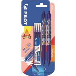 Pilot Collection Mika - Rollers Frixion Ball Clicker moyen... les 2 rollers + 3 recharges