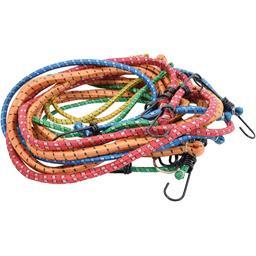 Tendeurs élastiques avec crochets assortis