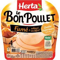 Filet de poulet fumé & adouci au miel - Le Bon Poulet