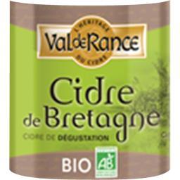 Cidre de Bretagne BIO