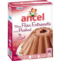 Ancel - Mon Flan Entremets saveur praliné