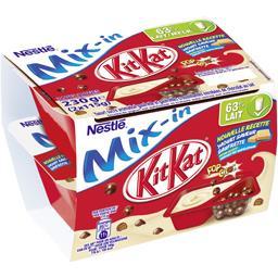 KitKat - Yaourt Mix-in goût gaufrette
