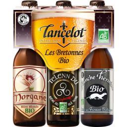 Assortiment bières Les Bretonnes bio