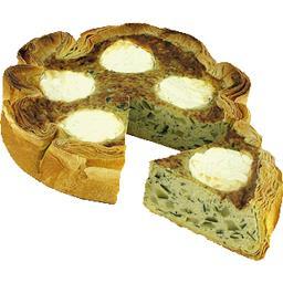 Quiche courgette fromage de chèvre