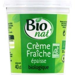 Crème fraîche épaisse BIO