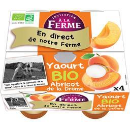 Yaourt abricot de la Drôme BIO et local