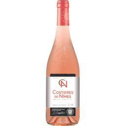 Costières de Nîmes, vin rosé,Expert Club,la bouteille de 75 Cl