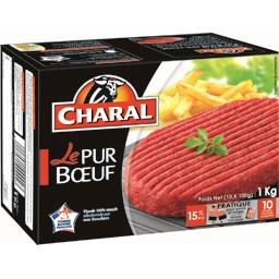 Steaks hachés Le Pur Bœuf 15% MG