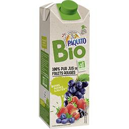 100% pur jus de fruits rouges BIO