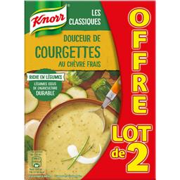 Knorr Soupe Douceur de courgettes au chèvre frais