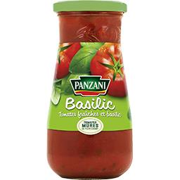 Sauce tomate basilic tomates 100% fraîches