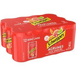 Soda aux saveurs de 4 agrumes