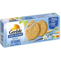 Biscuits sésame saveur vanille sans sucres