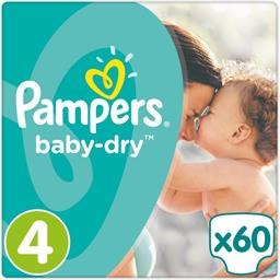 Couches Baby-dry, taille 4 : 8-16 kg