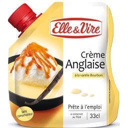 Crème anglaise à la vanille Bourbon