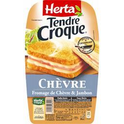 Tendre Croque - Croque-monsieur chèvre