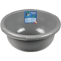 Bassine ronde grise 2,5 L