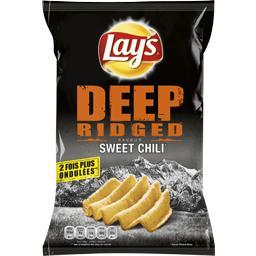 Chips Deep Ridged saveur Sweet chili