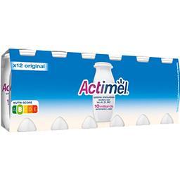 Actimel Danone  - Yaourts à boire nature