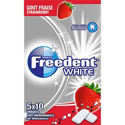 Freedent White - Chewing-gum goût fraise