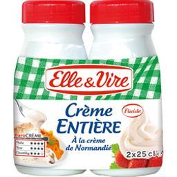 Crème entière fluide & onctueuse U.H.T