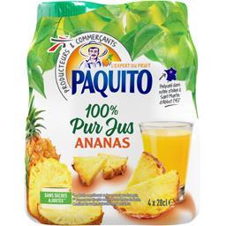 100% pur jus ananas
