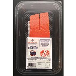 Marine Harvest Pavés de saumon Ecosse Label Rouge la barquette de 250 g