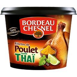 Rillettes de poulet façon thaï
