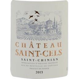 Château saint cels grand burgas, vin rouge