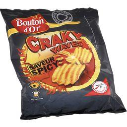 Chips Craky Waves sapeur Spicy