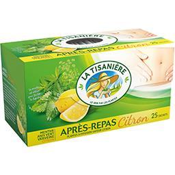 Infusion Après-repas citron