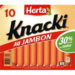 Knacki - Saucisse au jambon