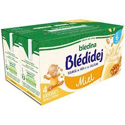 Blédidej - Céréales + apport lacté miel, dès 6 mois