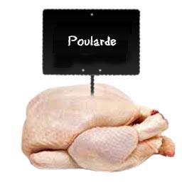 Poularde prête à cuire