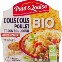Les Recettes du Monde - Couscous poulet et son boulgour BIO