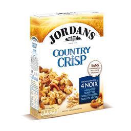 Country  Crisp - Céréales complètes & 4 noix