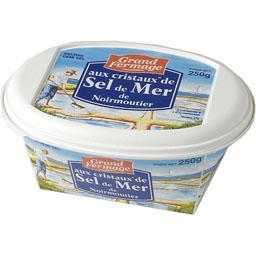 Beurre demi-sel aux cristaux de sel de mer de Noirmoutier