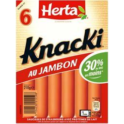 Knacki - Saucisses au jambon