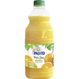 Pur jus orange avec pulpe