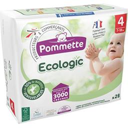Couches Ecologic taille 4 : 7-18 kg