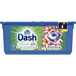 Perles 2en1 frangipanier & mandarinier - lessive en capsules - 30 lavages