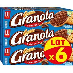 Granola - Biscuits L'Original chocolat au lait