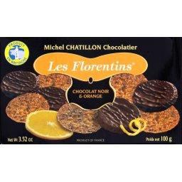 Les Florentins chocolat noir & orange