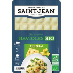 Saint Jean Ravioles emmental BIO