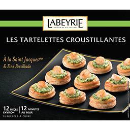 Les tartelettes croustillantes Saint Jacques et persillade