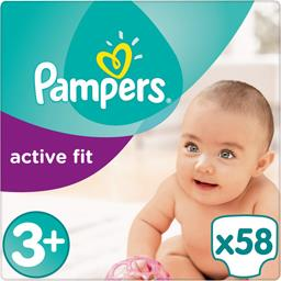 Couches Active Fit, taille 3+ : 5-10 kg
