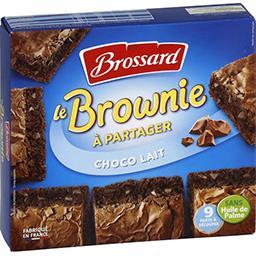 Brossard Le Brownie chocolat au lait la boite de 285 g