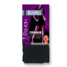 Collant opaque noir T1/T2