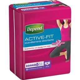 Sous-vêtements absorbants Active-Fit taille L : 44-5...