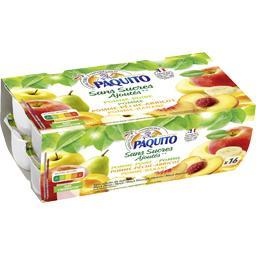 Purée de fruits sans sucres ajoutés